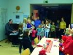 Lapsikuoro Kauneimmat Joululaulut-tilaisuudessa 4.12.2016
