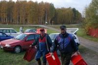 Heikki Kovanen ja Jaakko Siljanen, pitkäaikaisimmat jahtipäälliköt