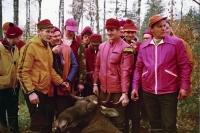 Erämiehet ja saalis 1974